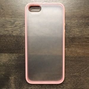 Accessories - iPhone 5 frosted pink case